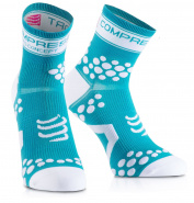Носки COMPRESSPORT FLUO V2 RUN синие