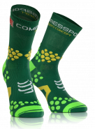 Носки COMPRESSPORT TRAIL HI V2.1 зеленые