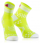 Носки COMPRESSPORT FLUO V2 RUN желтые