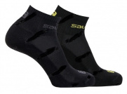 Носки SALOMON ACTIVE 2 PACK BLACK/ASPH/YE