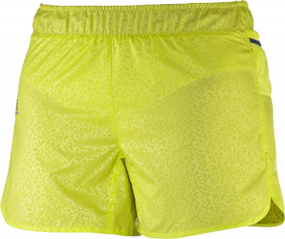 Шорты SALOMON TRAIL RUNNER SHORT W yuzu yellow фото 20147