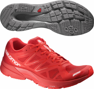 Кроссовки SALOMON SHOES S-LAB SONIC RACING RED/R фото 20910